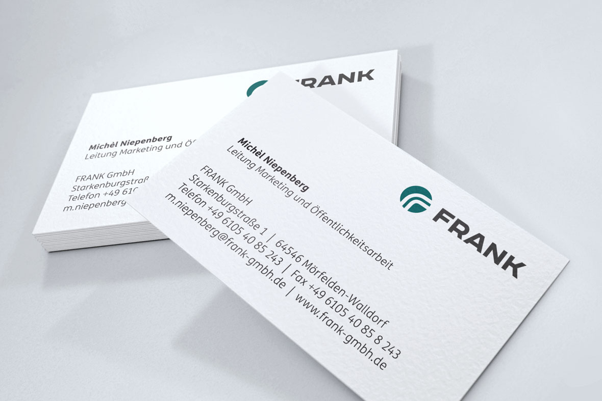cord website frank business card visitenkarte design brand corporate design