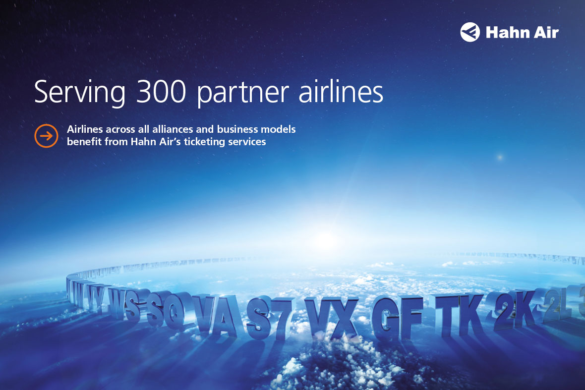 Broschüre Hahn Air Serving 300 partner airlines